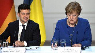 Зеленский провел телефонный разговор с Меркель / Фото: kremlin.ru