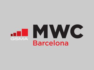 Офифицальный логотип выставки MWC 2020
