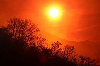 небо,сонце
