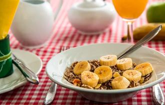 бананы, завтрак