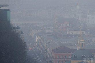 погода, Київ, туман