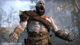 Скріншот з гри God of War 2018