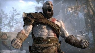 Скриншот из игры God of War 2018