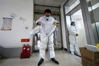 Китай, вірус