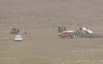Во Франции разбился пассажирский самолет / фото France 3