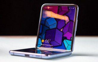 Дизайн Samsung Galaxy Z Flip
