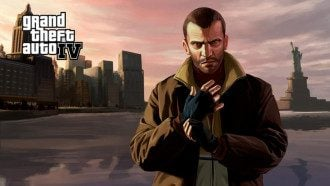 Официальный арт игры GTA IV