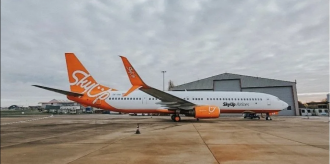 На борт літака на пустили 4 громадян / Фото: SkyUp Airlines