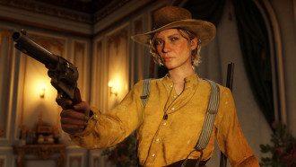 Кадр из игры Red Dead Redemption 2