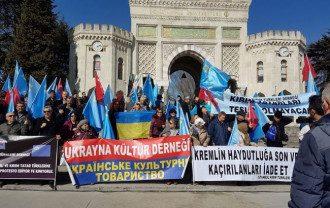 В Турции прошел митинг против оккупации Крыма / facebook.com/CGUinIstanbul