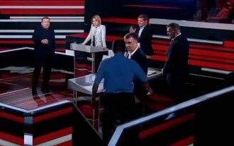 Скандал на росТВ
