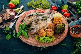 Великий пост_картошка_картофель_рыба_кукуруза