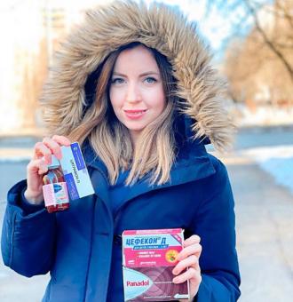 Блогер едва не погибла в бане / Фото: Instagram/didenko.katerina