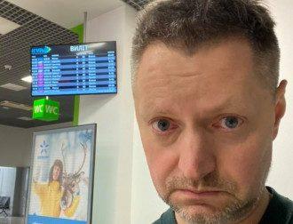 Алексея Пивоваров не пустили в Украину / Фейсбук А.Пивоварова