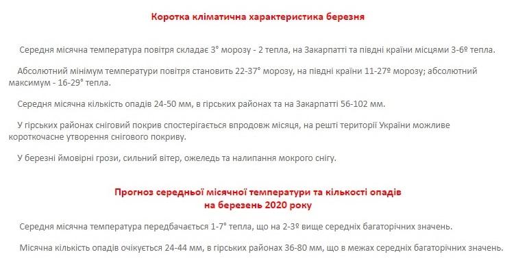 Українців попередили про температурну аномалію в березні