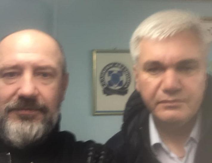 Сергей Мельничук и Вадим Саблук / facebook.com/aydar.gepard