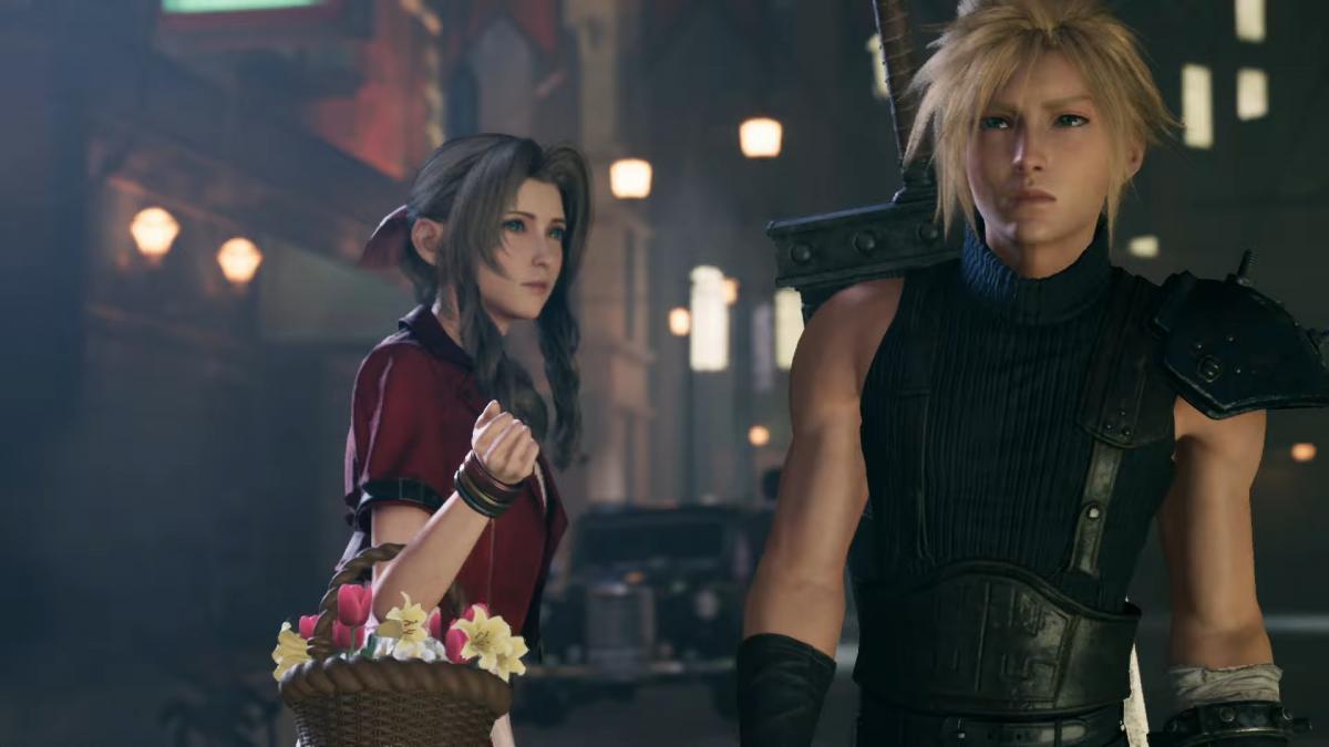 Кадр из Final Fantasy VII Remake