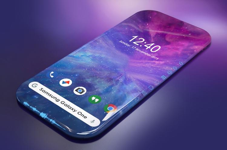 Концепт-дизайн смартфона Samsung