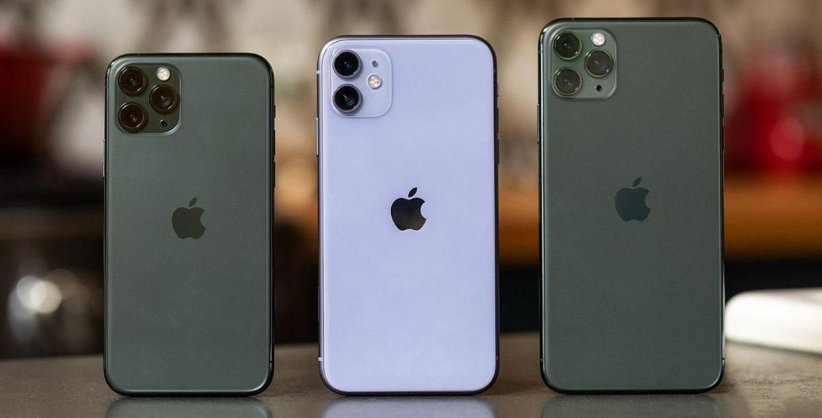 Модельный ряд iPhone 11