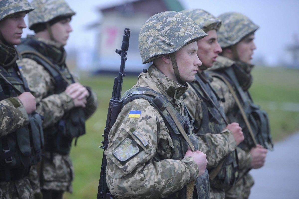 Украина, призывники