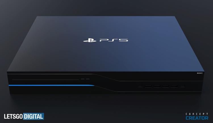 Концепт-арт PlayStation 5