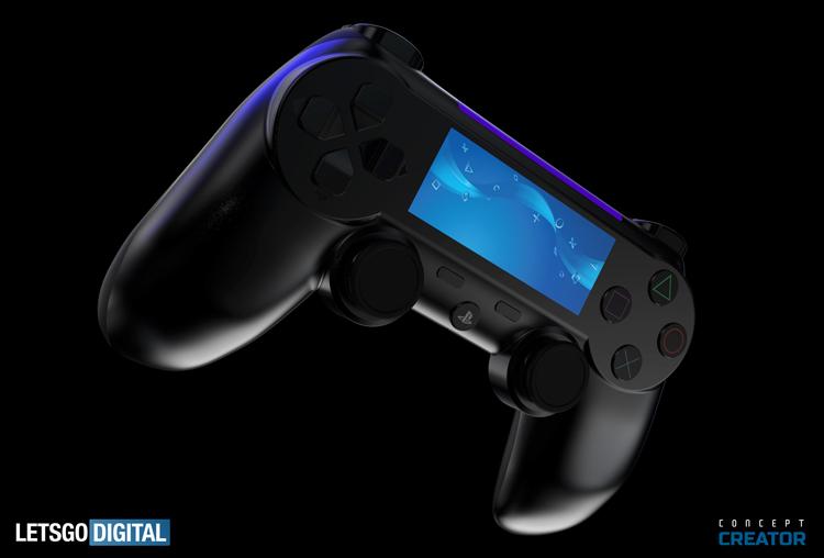 Концепт-арт DualShock 5