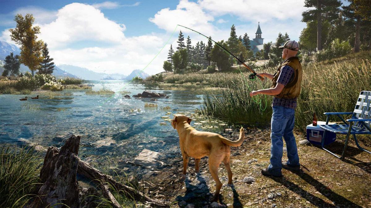Кадр з Far Cry 5