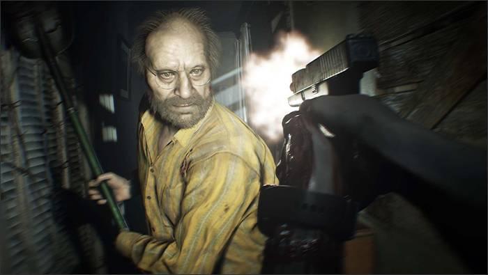 Кадр з Resident Evil 7