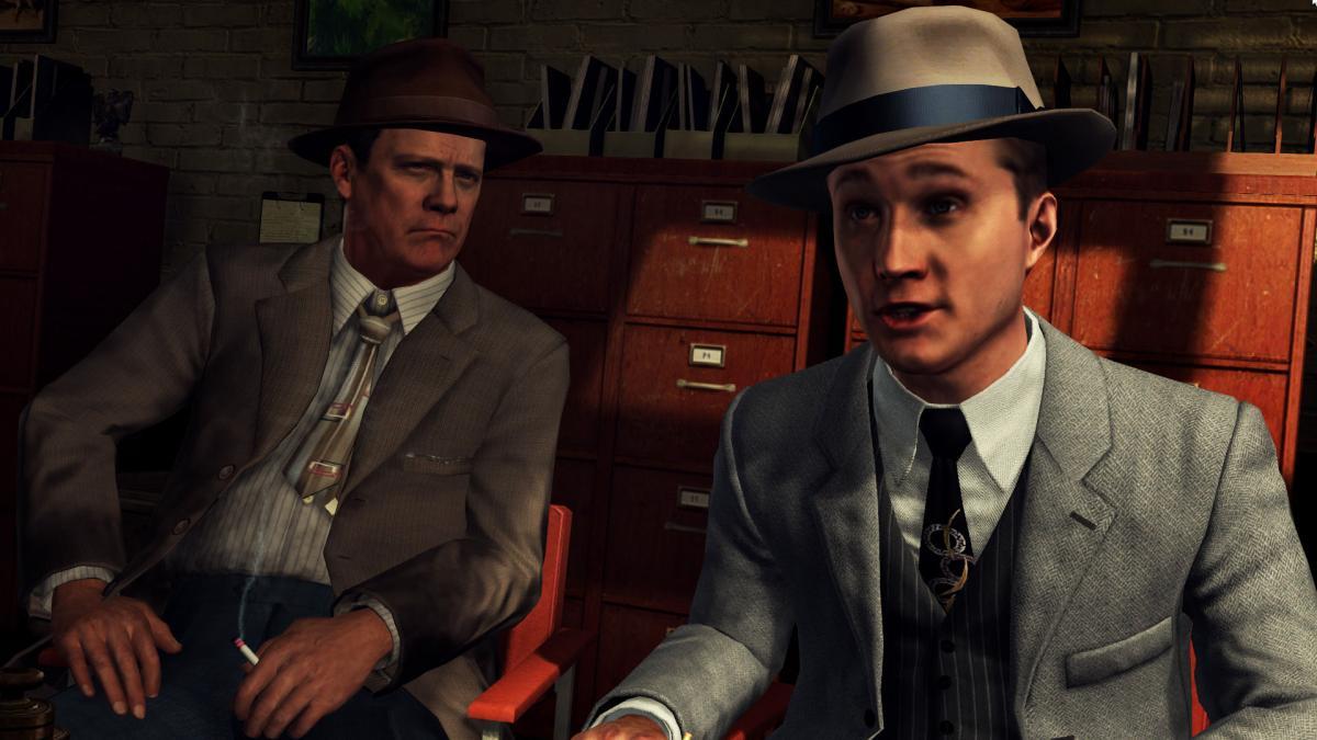 Кадр з L. A. Noire