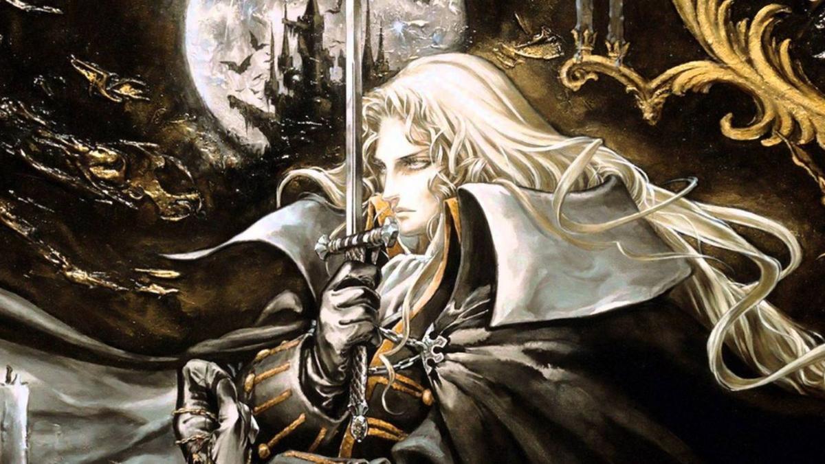 Арт в Castlevania: Симфонія ночі