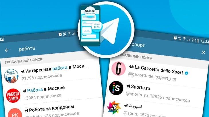 Примеры каналов в Telegram