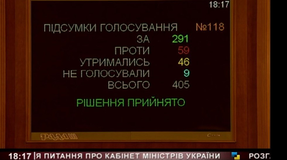 Рада утвердила Шмыгаля в качестве нового премьера