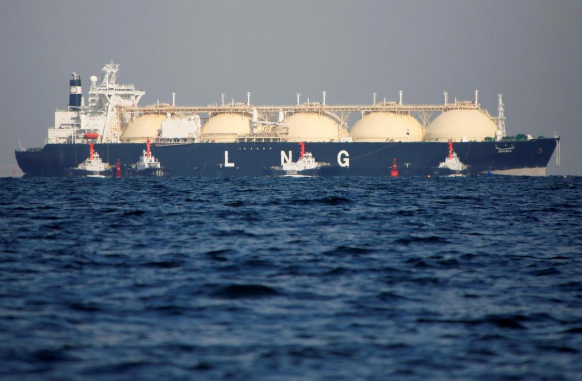 Газ, США, терминал
