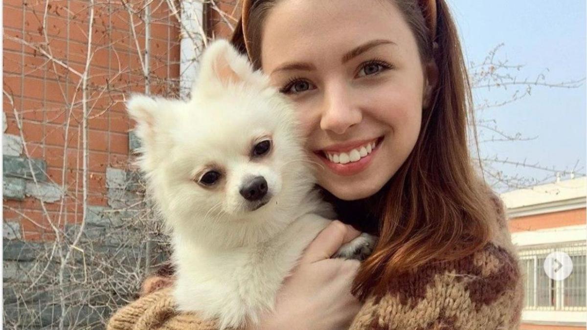 Анастасия Зинченко осталась в Китае