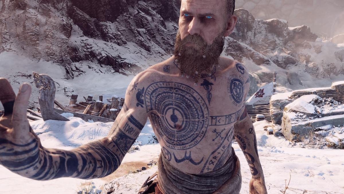 Чужак, один из боссов God of War