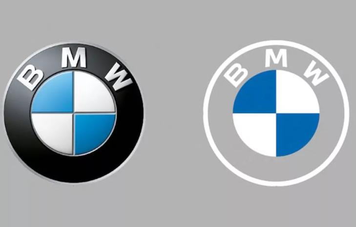 Порівняння старого і нового символу BMW