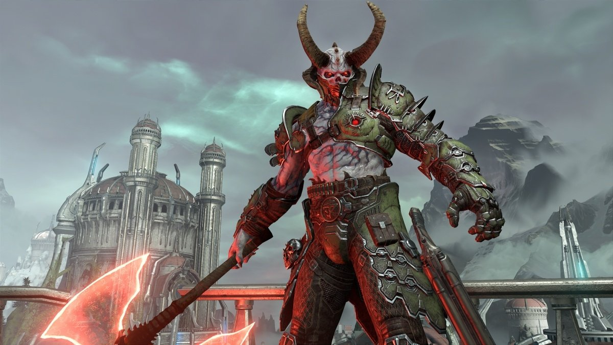 Кадр з Doom Eternal
