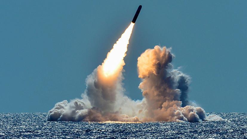 Ядерная ракета, запуск