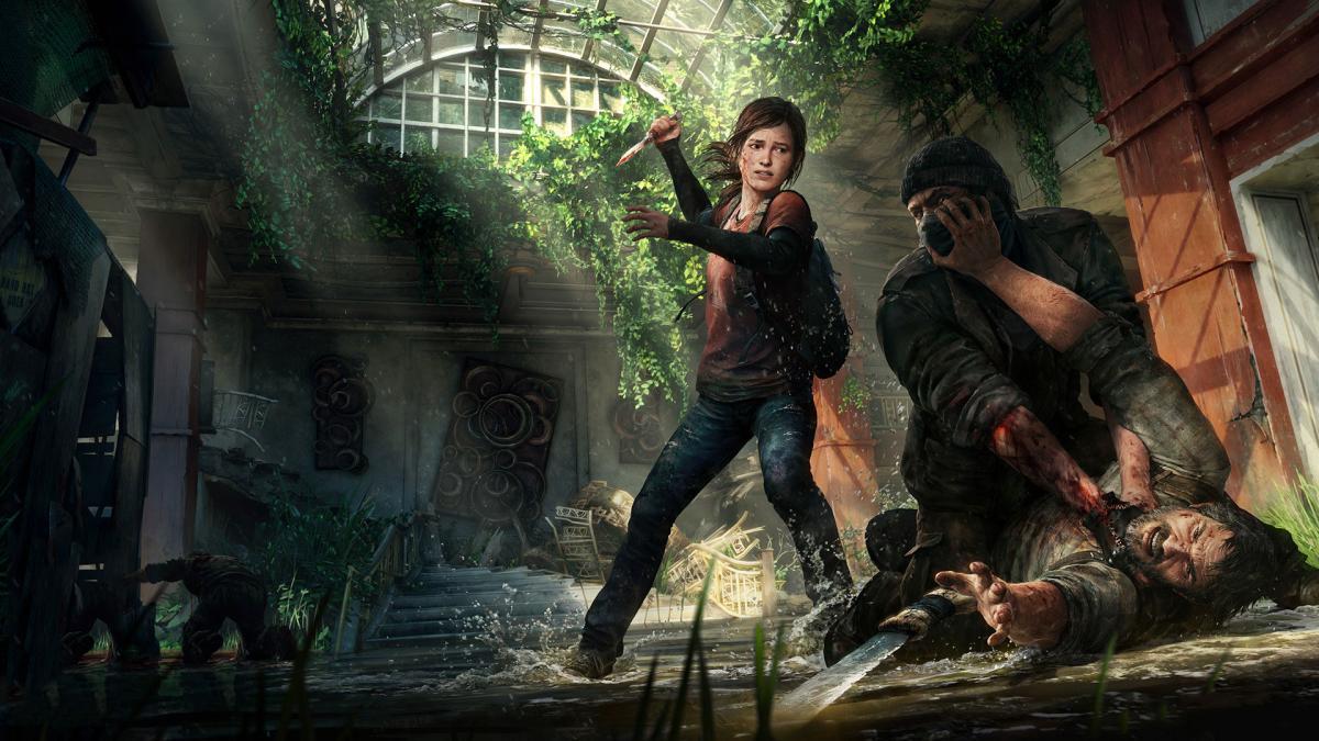 Арт игры The Last of Us / Naughty Dog