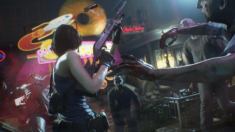 Кадр из Resident Evil 3 Remake
