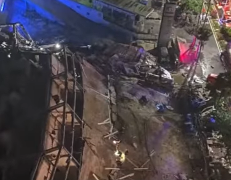 У Китаї сьогодні завалився готель Xinjia Express – Коронавірус Китай