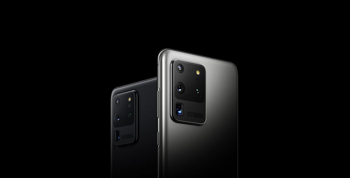 Дизайн Galaxy S20 Ultra