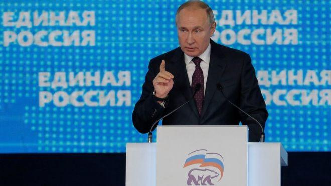 Путин, Единая Россия