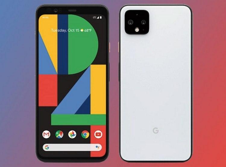 Дизайн Google Pixel 4