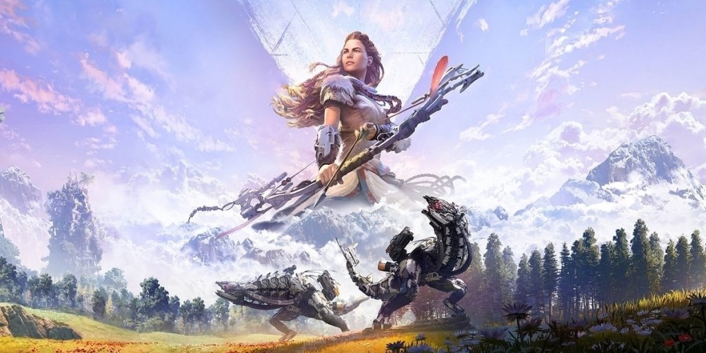 Арт игры Horizon Zero Dawn