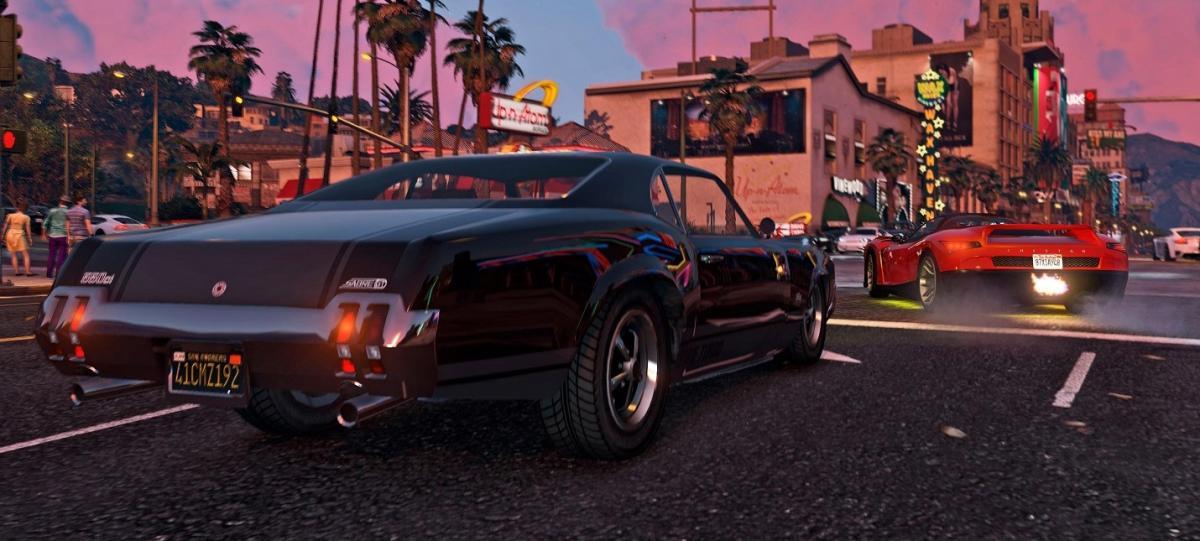 Кадр из Grand Theft Auto V