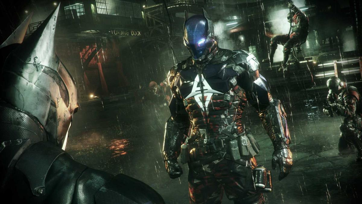 Кадр из Batman: Arkham Knight