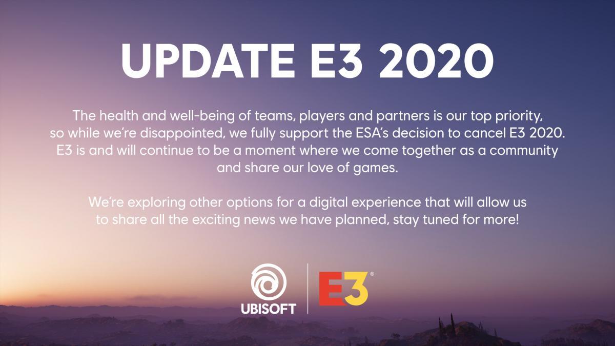 Заявление Ubisoft