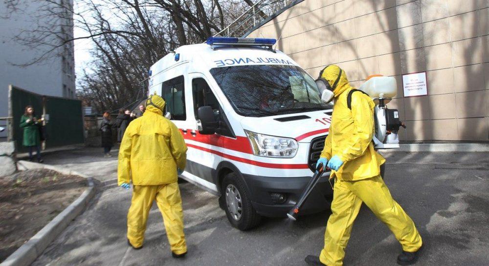 Китайский коронавирус в Украине
