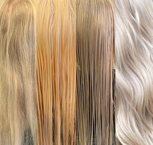 Тонування волосся